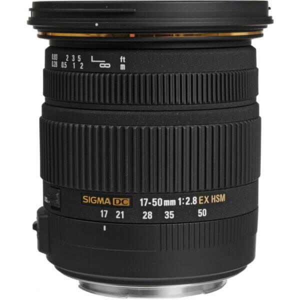 Sigma Lens 17 50mm F2.8 EX DC OS HSM for Canon ประกันศูนย์ 2