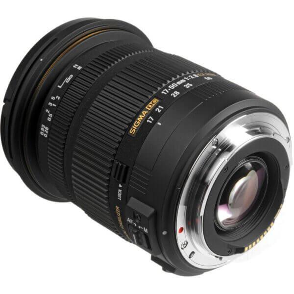 Sigma Lens 17 50mm F2.8 EX DC OS HSM for Canon ประกันศูนย์ 4