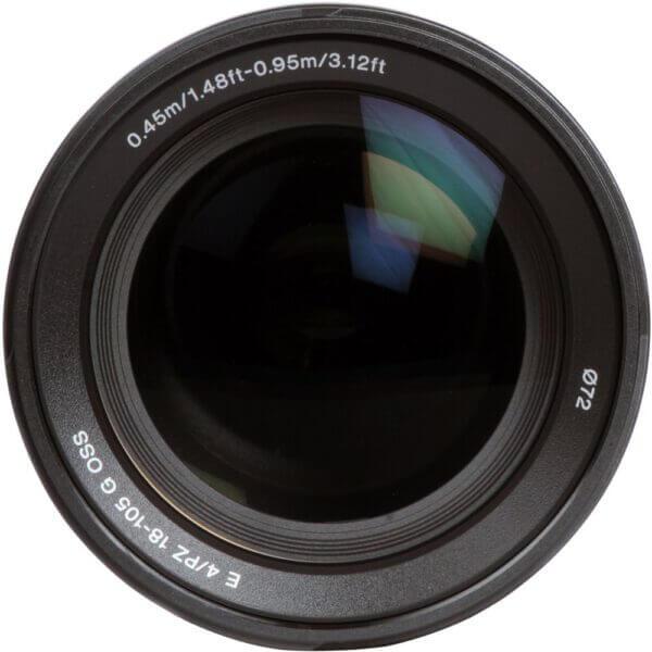 Sony Lens E 18 105mm F4 G PZ OSS 5