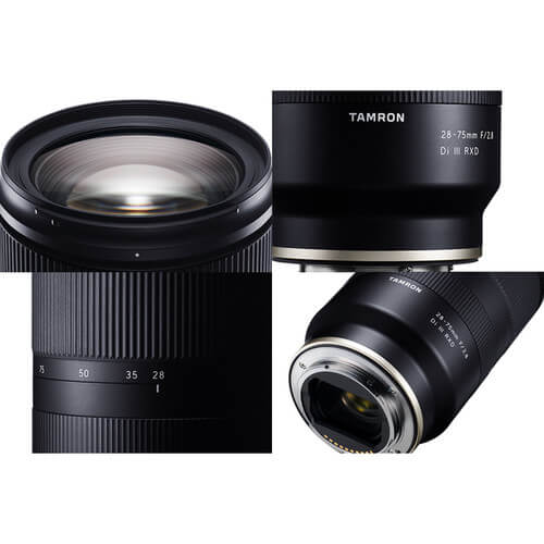 Tamron 28 75mm f2.8 Di III RXD Lens for Sony E 6