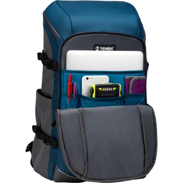 Tenba BP 636 416 Solstice 24L Backpack Blue 4