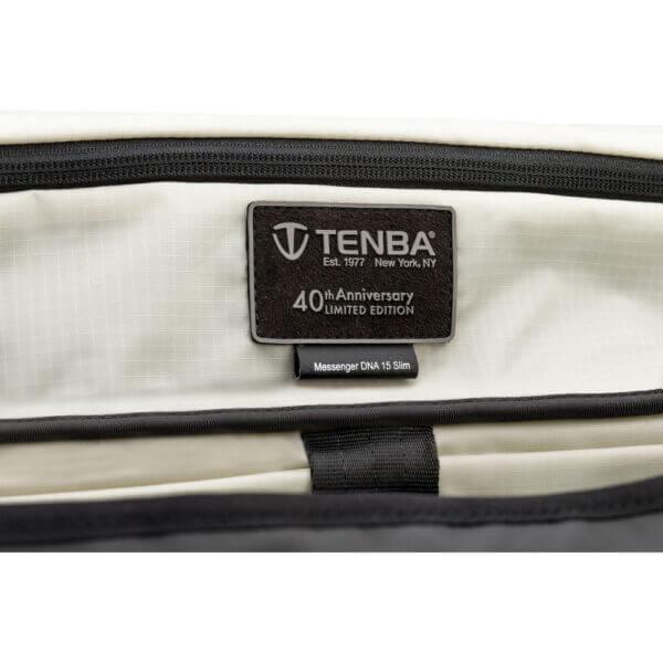 Tenba ME 638 485 Messenger DNA 15 Slim Black 40th 8