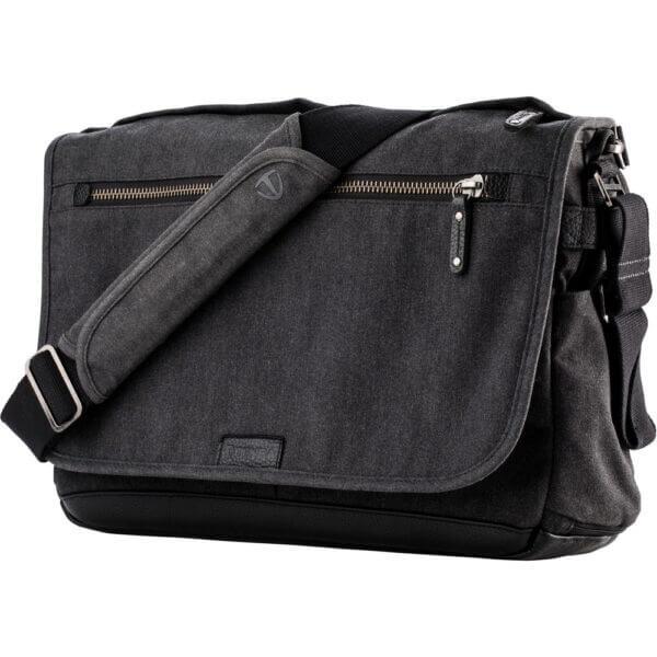 Tenba SH 637 406 Cooper 15 Slim GreyBlack Leather 16
