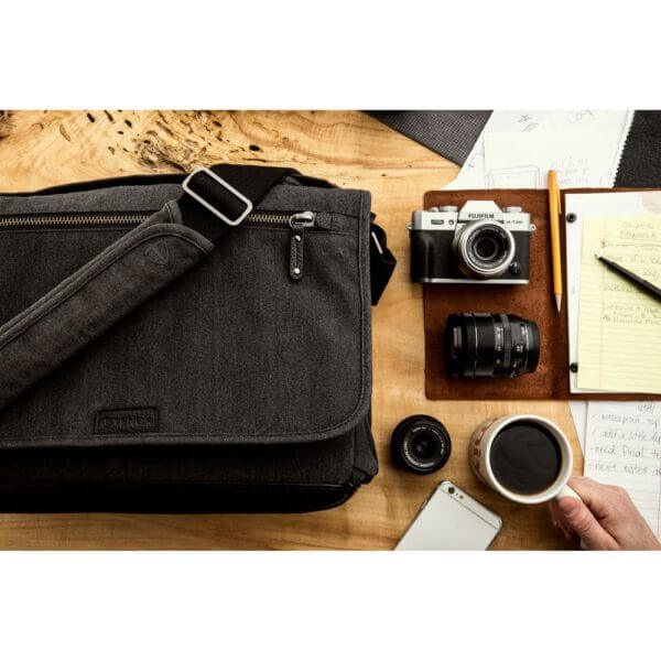 Tenba SH 637 406 Cooper 15 Slim GreyBlack Leather 17