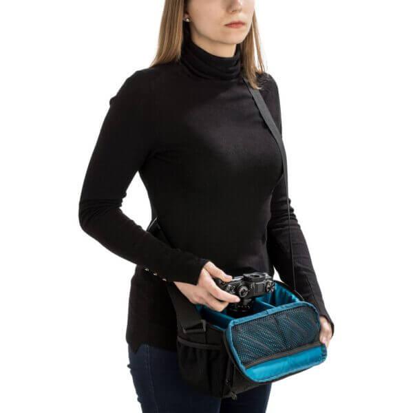 Tenba Skyline 10 Shoulder Bag Gray 7 1