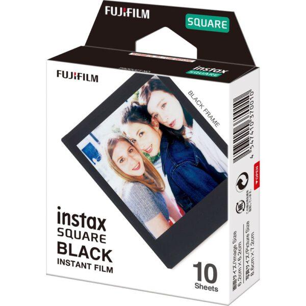 Fujifilm Instax Square film Black 2