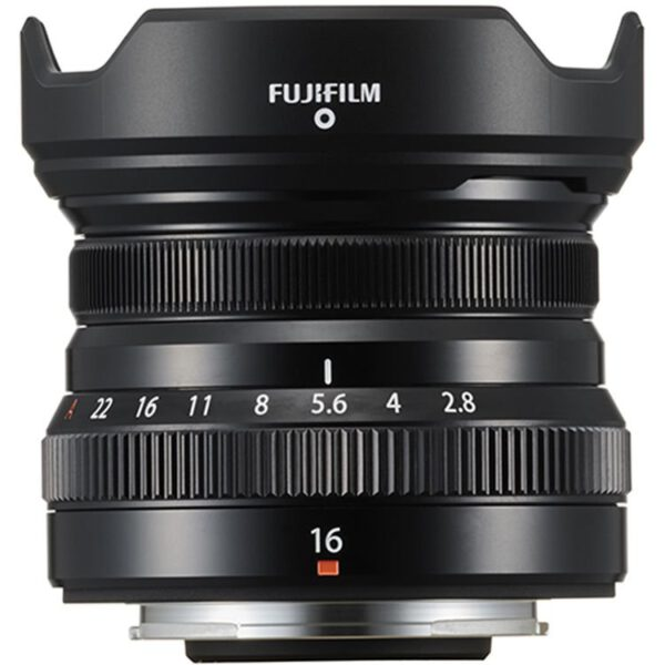 Fujifilm Lens XF 16mm F2.8 R WR Black Thai 3