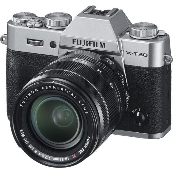 Fujifilm X T30 KIT 18 55mm Silver ประกันศูนย์2