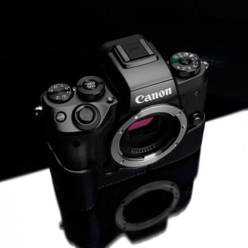 Gariz XS CHEOSRBK Half case for Canon EOS R Black 1