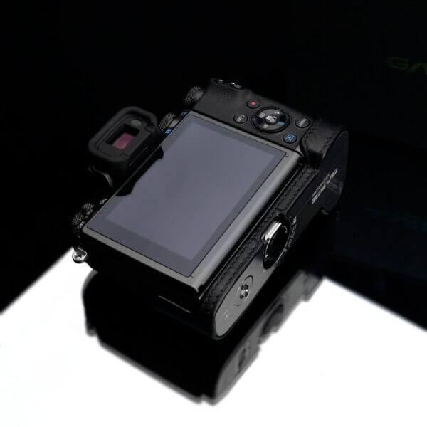 Gariz XS CHEOSRBK Half case for Canon EOS R Black 3