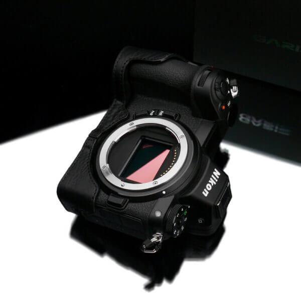 Gariz XS CHZ6Z7BK Half case for Nikon Z6Z7 Black 3