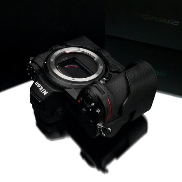 Gariz XS CHZ6Z7BK Half case for Nikon Z6Z7 Black 5