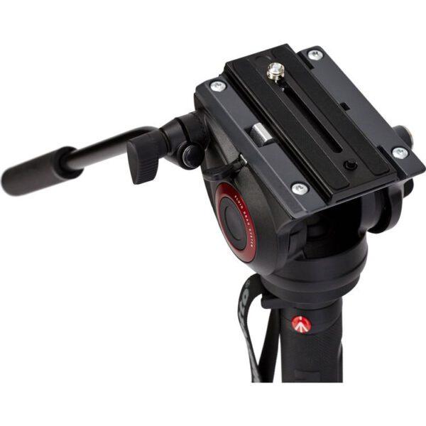 Manfrotto MVMXPRO500 Xpro 4 Section Aluminium Video Monopod w Fluid Video Head6