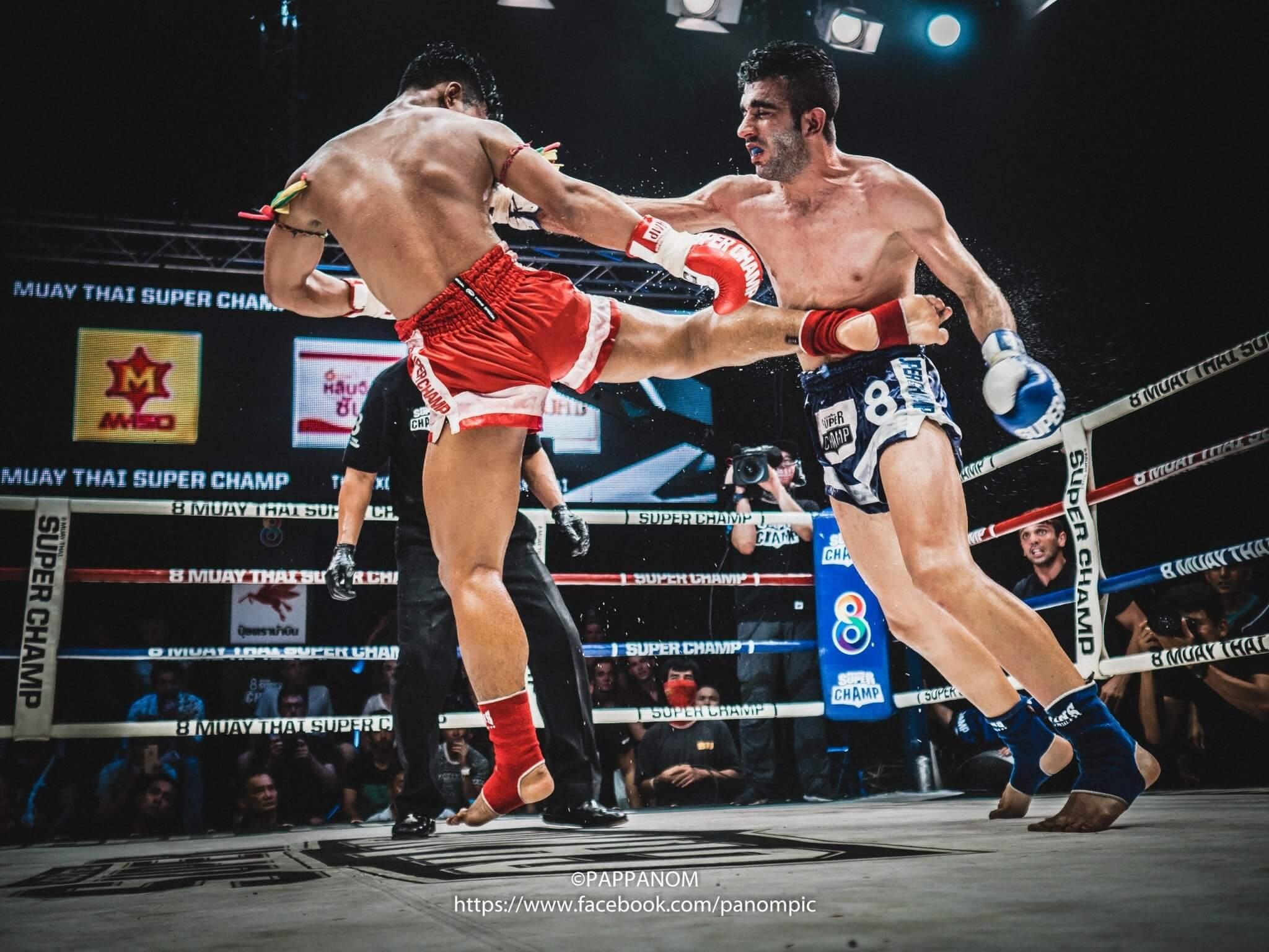 ลงทะเบียน Olympus Muay Thai Street Workshop