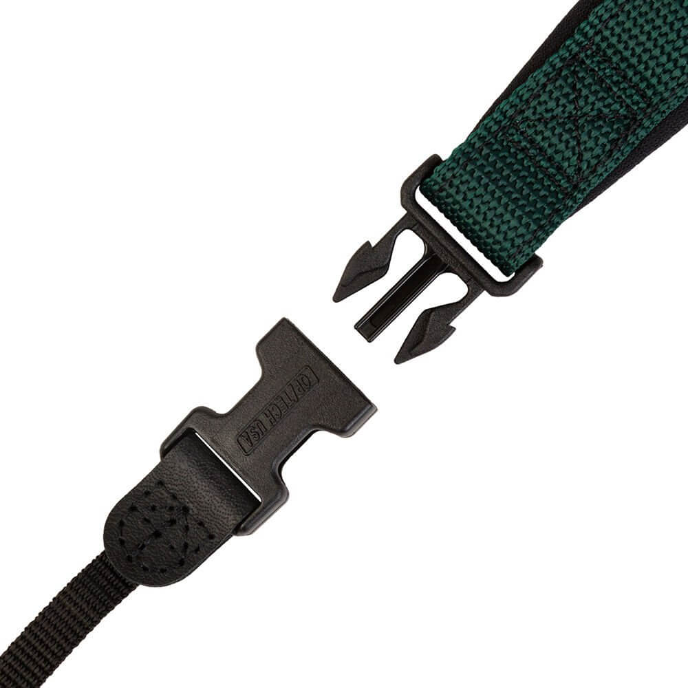 Optech Envy strap Forest 6