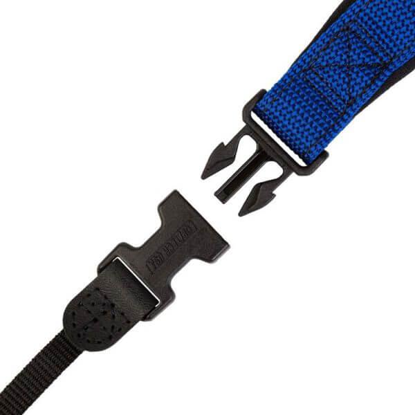 Optech Envy strap Royal 7