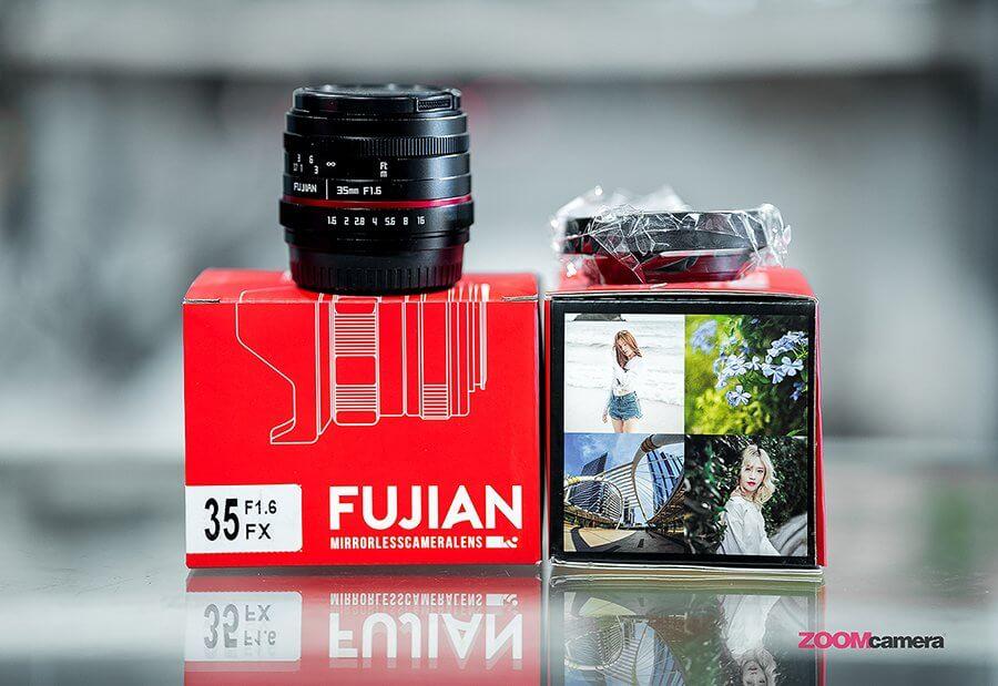 Fujian 25mm F1.8 ,Fujian 35mm F1.6 และFujian 50mm F1.8