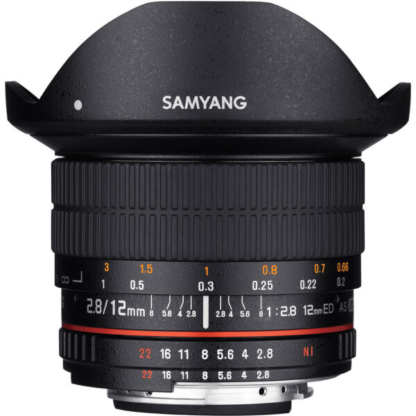 Samyang 12mm F2.8 for Canon ประกันศูนย์ไทย 2