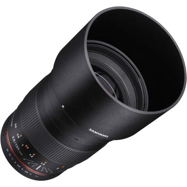 Samyang 135mm F2 ED UMC for Canon ประกันศูนย์ไทย 4