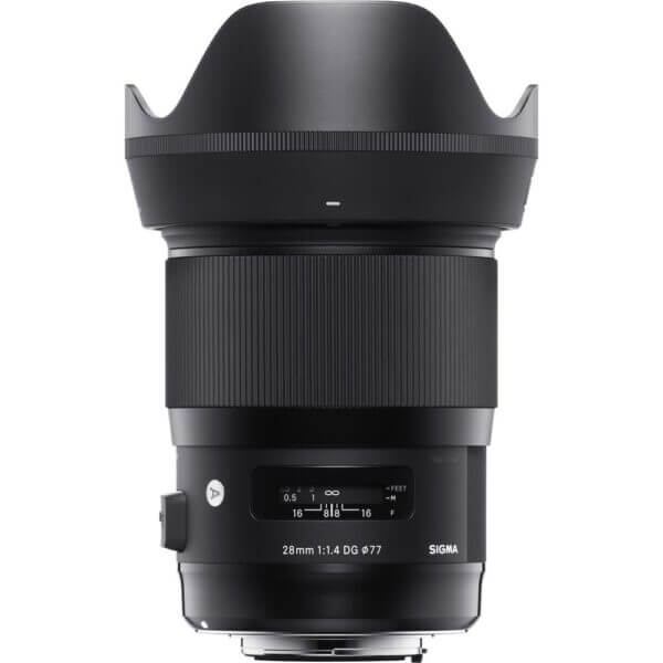 Sigma Lens 28mm F1.4 A DG HSM for Nikon ประกันศูนย์ 2