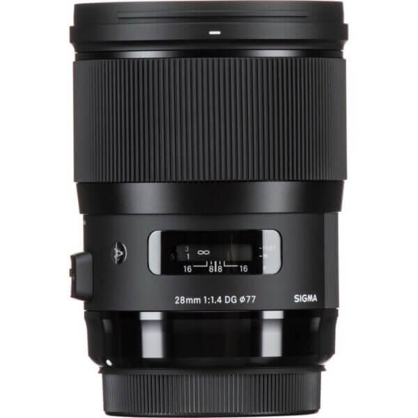 Sigma Lens 28mm F1.4 A DG HSM for Nikon ประกันศูนย์ 3