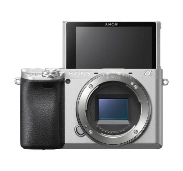 Sony Alpha A6400 Body Silver ประกันศูนย์ 4