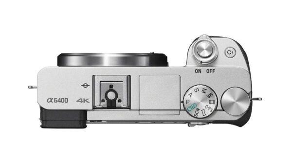 Sony Alpha A6400 Body Silver ประกันศูนย์ 6