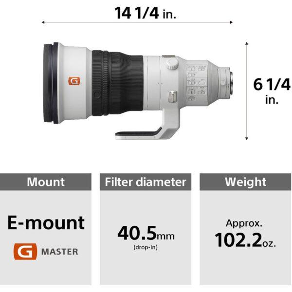 Sony Lens SEL400F28GM 400mm f2.8 GM OSS ประกันศูนย์ 7
