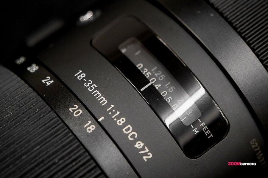 Sigma 18-35mm f/1.8 DC HSM Art