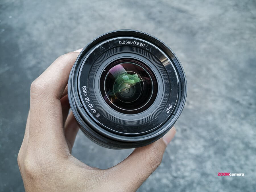 Overview : Sony SEL 10-18 F4 OSS