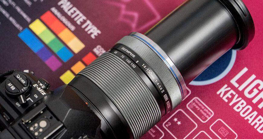 OLMPUS M ZUIKO DIGITAL ED 14 150mm F4 0 5 6 II external Zoom1 1