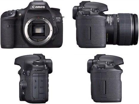 Canon EOS 7D high-end digital SLR รุ่นใหญ่มาแล้ว