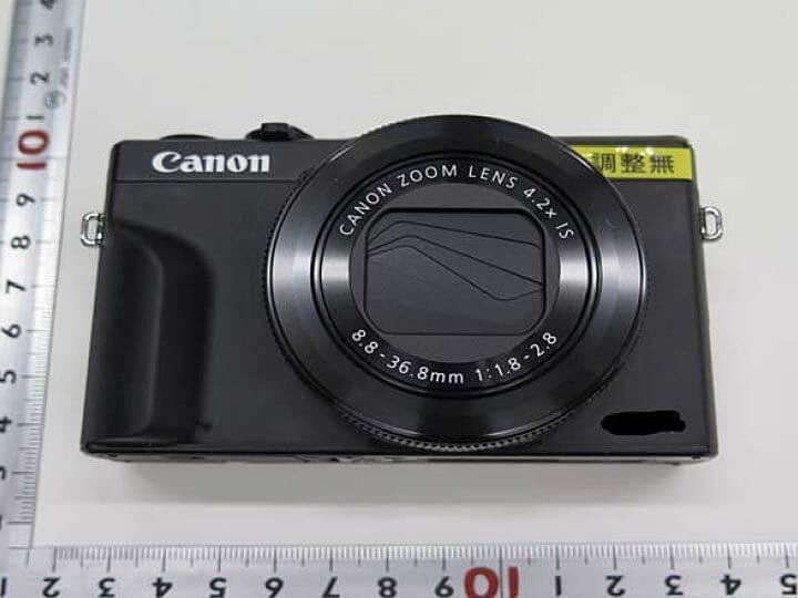 หลุด !! เผยภาพแรกของ Canon G7X mk III