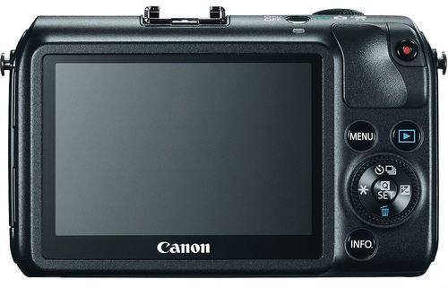 ภาพชัดๆ Canon mirrorless พร้อมเลนส์ EF-M