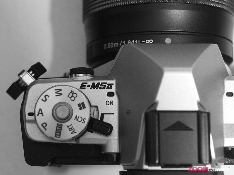 E M5 Mark II BW