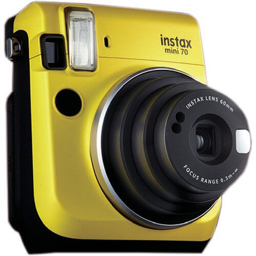 Fujifilm Instax mini 70 Yellow 3