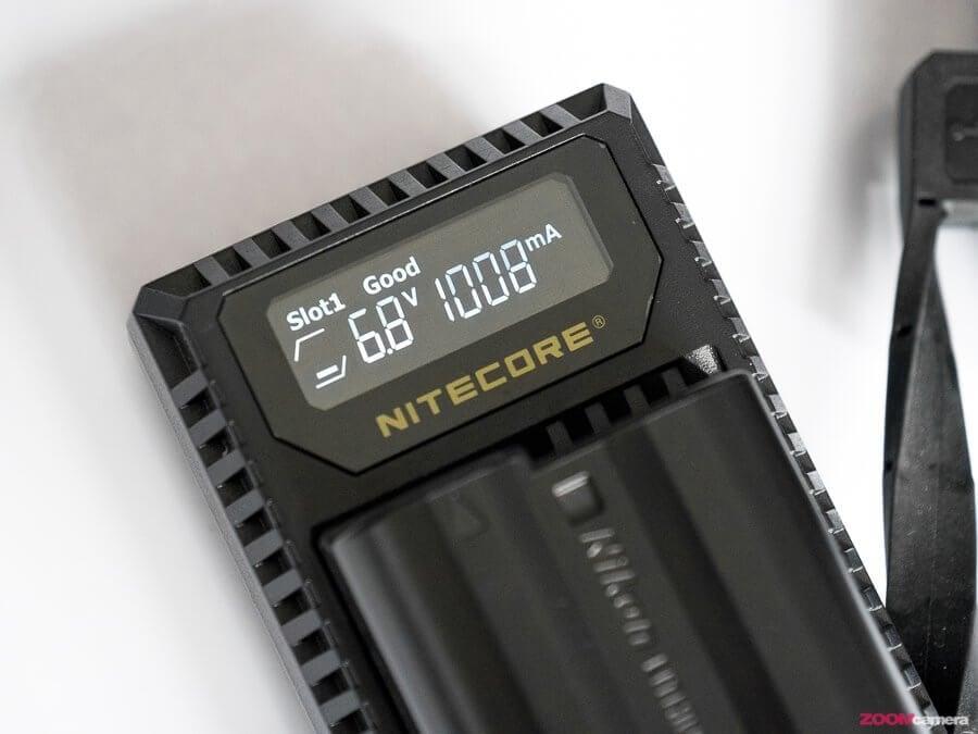 Review NITECORE Dual-Charger ที่ชาร์จกล้องผ่าน USB สุดล้ำ
