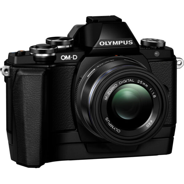 Olympus Grip ECG 1 E M10 Black Thai 3