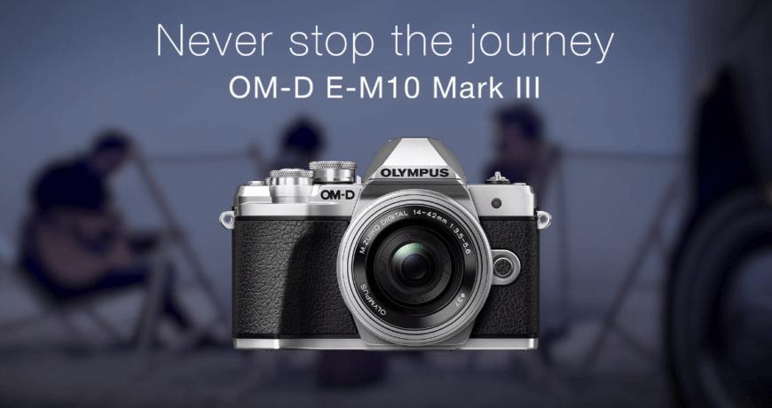 Olympus OM D E M10 Mark III กล้อง Mirrorelss สายเที่ยว ปี 2018