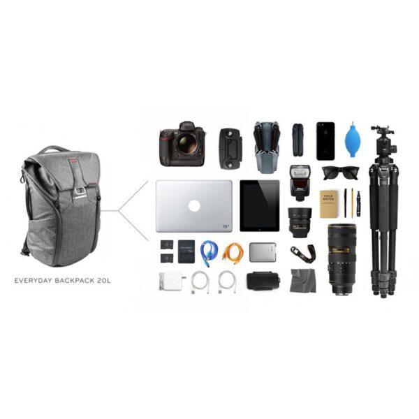 Peak Design BB 20 BL 1 Everyday Backpack 20L Charcoal