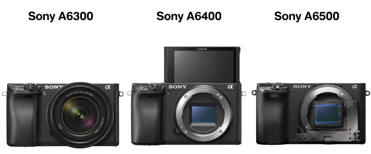 Preview compare sony a6400 a6300 a6500 content zoomcamera 0