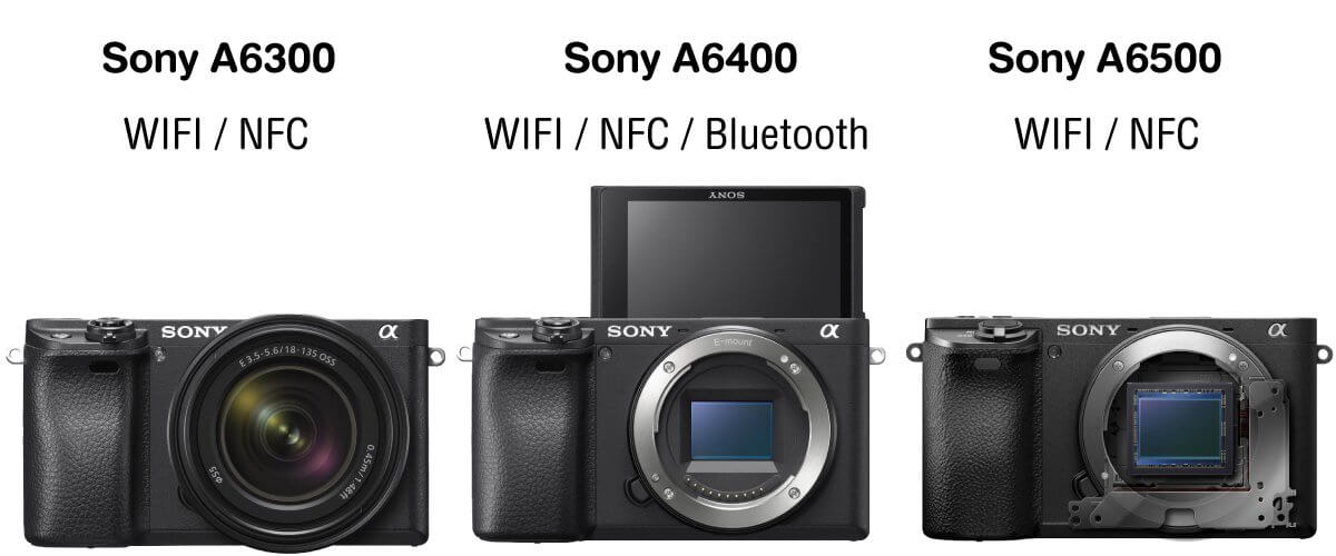 Preview compare sony a6400 a6300 a6500 content zoomcamera 8