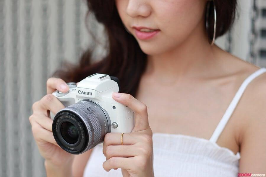 10 เหตุผลที่ควรซื้อกล้อง Canon EOS M50