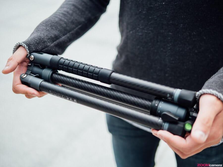 Review Fotopro X-Aircross 1 ขาตั้งกล้องถือชิว เดินปลิว รับ 8 กิโลกรัมแต่น้ำหนักเบาเพียงแค่ 815 กรัม