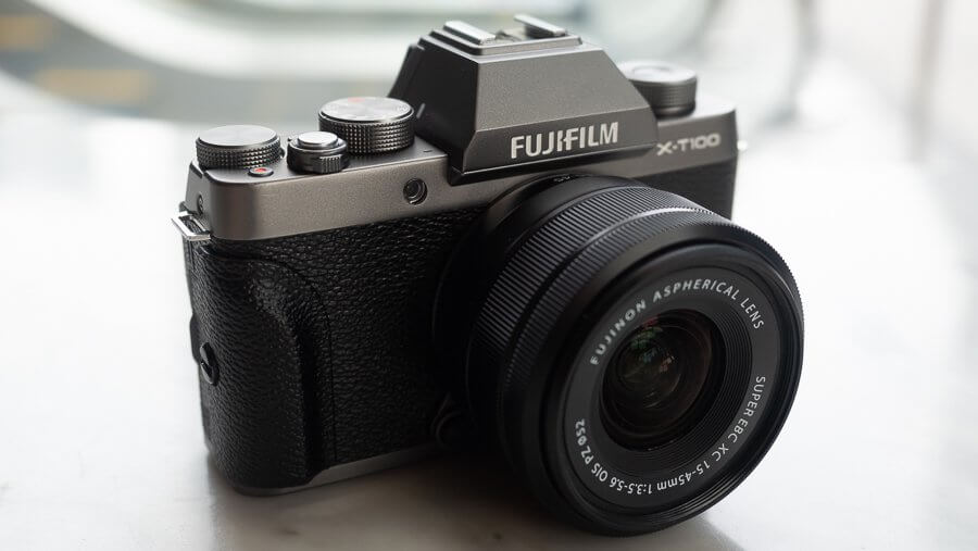 Review Fujifilm X T100 Product 6250002