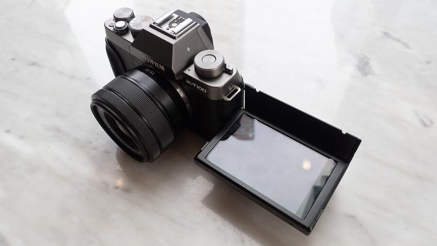 Review Fujifilm X T100 Product 6250025