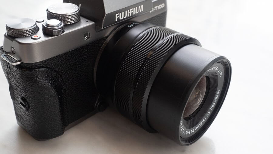 Review Fujifilm X T100 Product 6250038