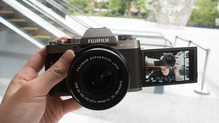 Review Fujifilm X T100 Product 6250048