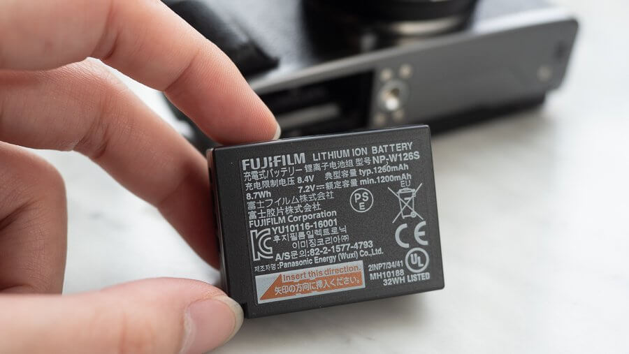 Review Fujifilm X T100 Product 6250055