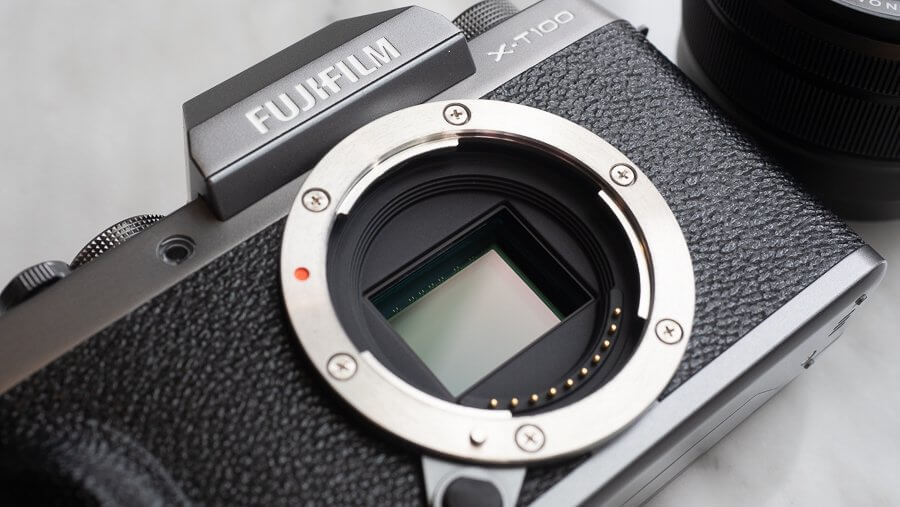 Review Fujifilm X T100 Product 6250060